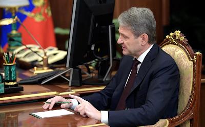 Agriculture Minister Alexander Tkachev.