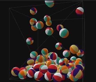 falling-beach-balls-in-black-background-3d-box