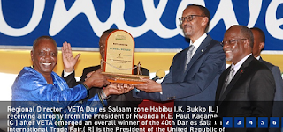 VETA Selection Results Tanzania