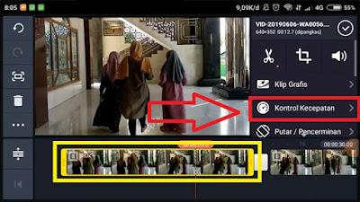 Cara Membuat Video Slow Motion di KineMaster