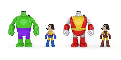 Henry & Glenn Forever Marvel Comics Edition Vinyl Figure Sets by Rocom Toys x Tom Neely