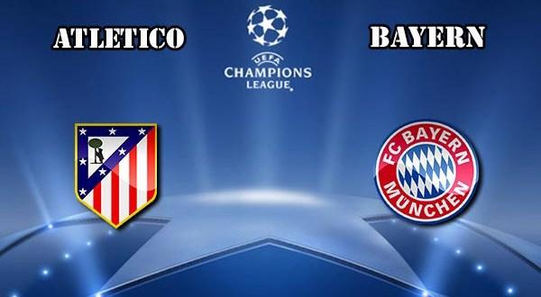 atletico madrid vs bayern munich ... live HD