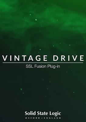 Cover do Plugin Solid State Logic - SSL Fusion Vintage Drive Plug-in 1.0.24