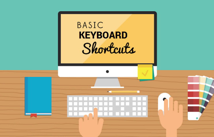 Keyboard Shortcuts For Facebook, Twitter, Photoshop And More! #infographic