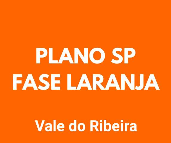 Vale do Ribeira avança para fase laranja do Plano SP de retomada das atividades econômicas