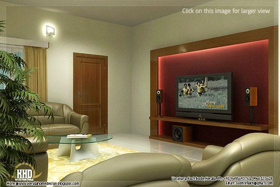 Exterior: Beautiful Living Room Rendering