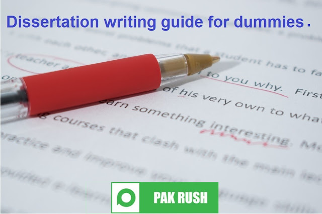 Dissertation Writing Guide For Dummies