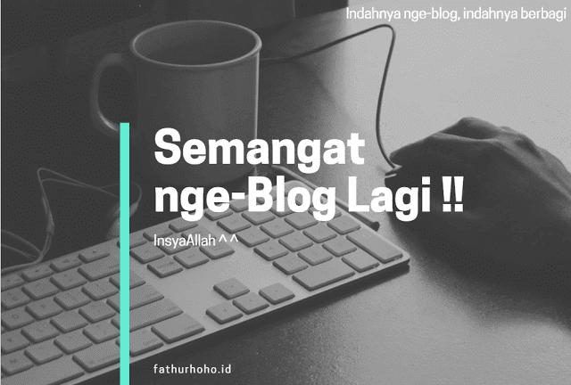 Motivasi Nge-Blog