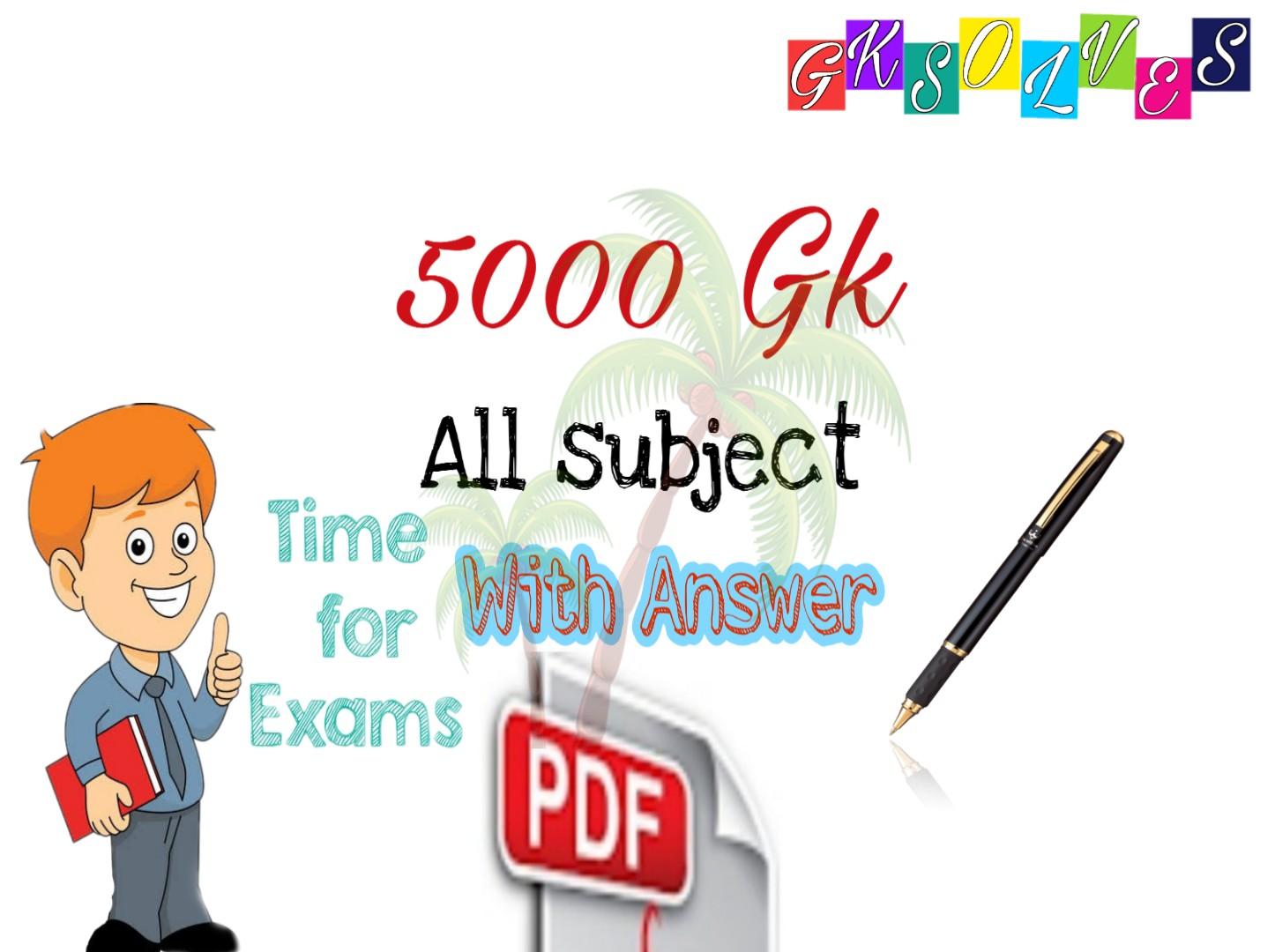 5000 General Knowledge