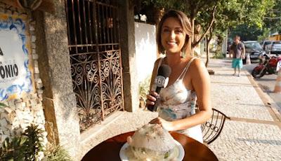Liane Borges no restaurante Seu Antônio - Crédito: Divulgação/SBT