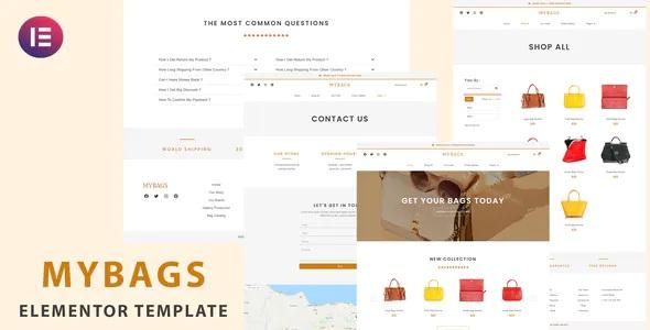 Best Modern Commerce Elementor Template Kit