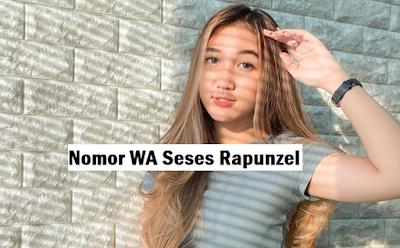 Nomor Whatsapp Seses Rapunzel