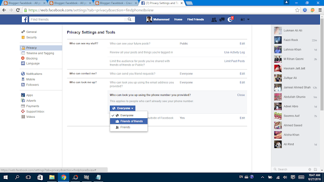 Facebook Privacy Settings 14