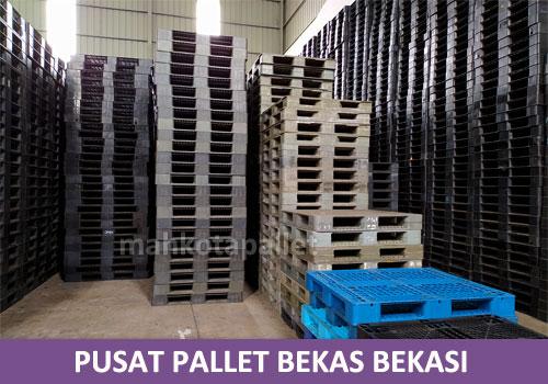 Pusat Pallet Plastik Bekas Berkualitas di Bekasi