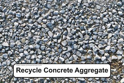 Recycle Concrete Aggregate