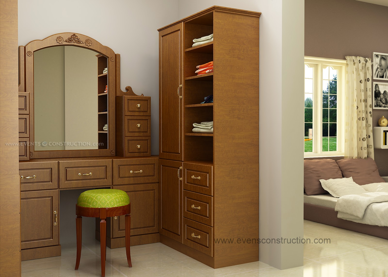 Dressing Table Designs For Master Bedroom Wardrobe And Dressing Table Home