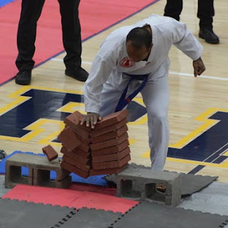 2018 Winter Badger State Games Brick Breaking Greatmats Martial Arts Mats