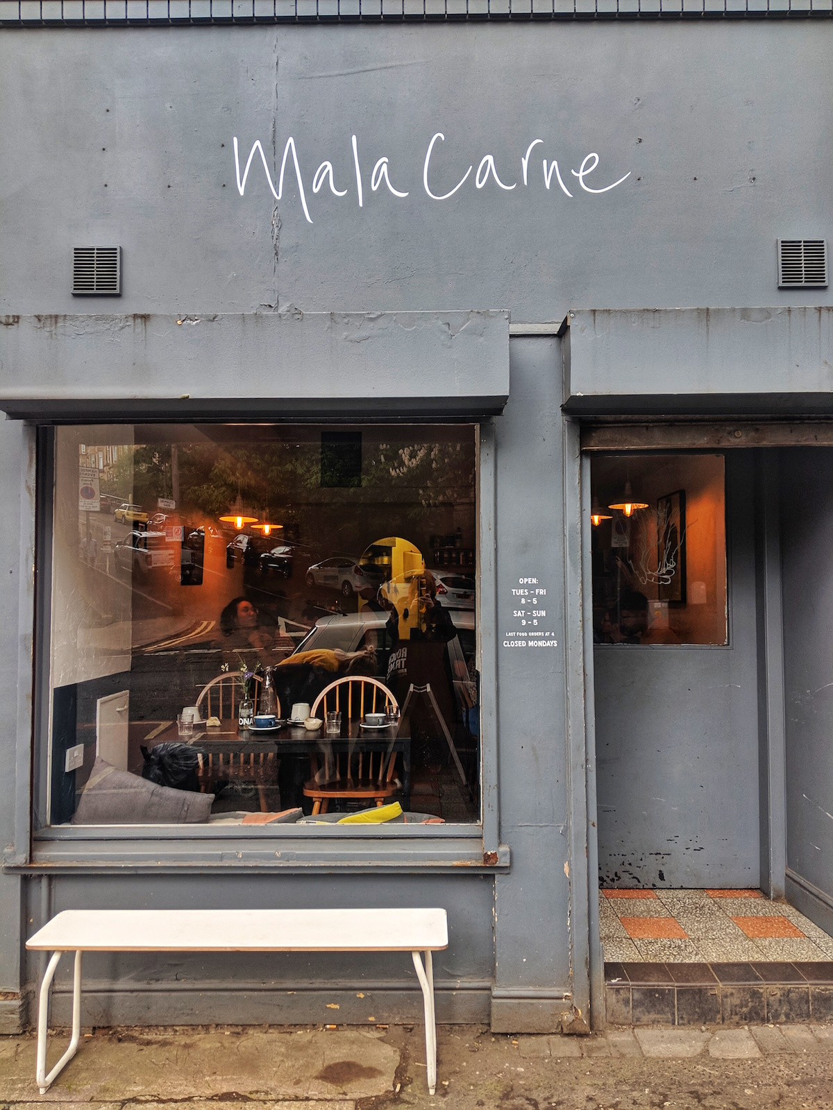 Vegan brunch at Mala Carne in Glasgow