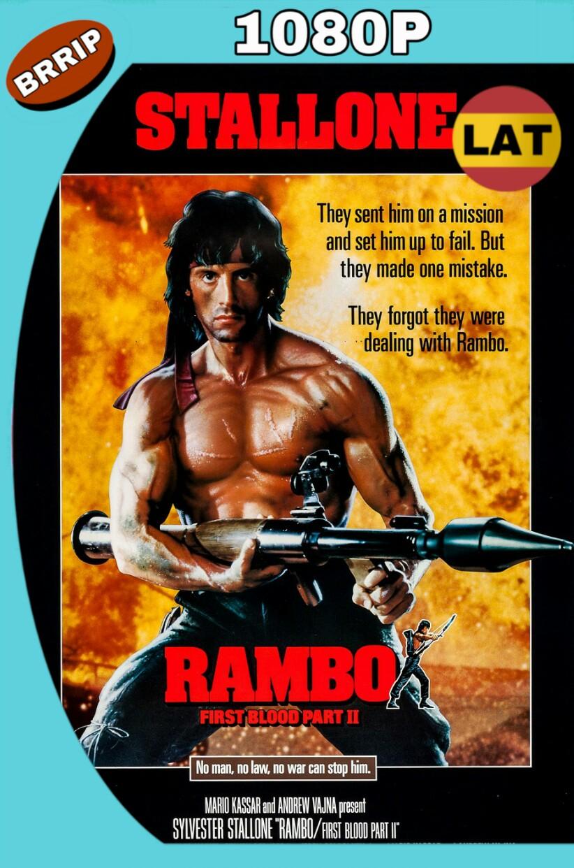 RAMBO: ACORRALADO PARTE II (1985) BRRIP 1080P LATINO-INGLES MKV