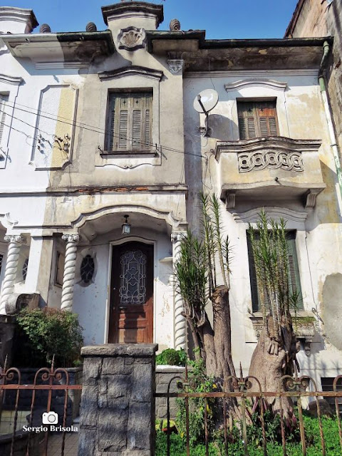 Vista ampla de uma Casa antiga na Rua Bom Pastor 1079 - Ipiranga - São Paulo