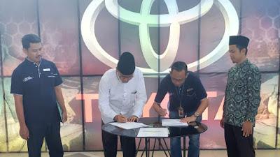 SMK VIP Ma'arif NU Kemiri menandatangani MoU dengan PT Nasmoco Magelang