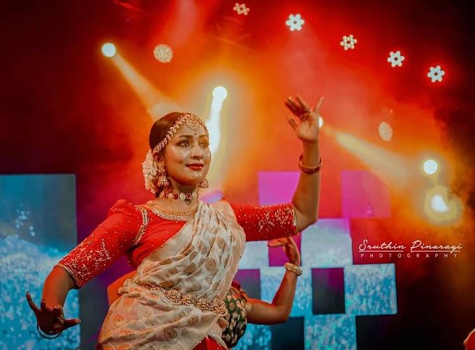 South Indian Actress Navya Nair Dance Performance Photos