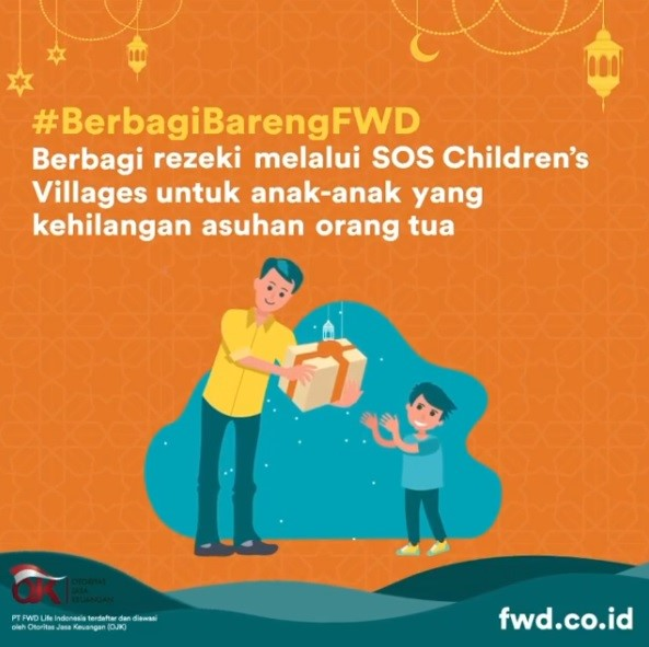 Kolaborasi FWD Life bersama SOS Children's Villages