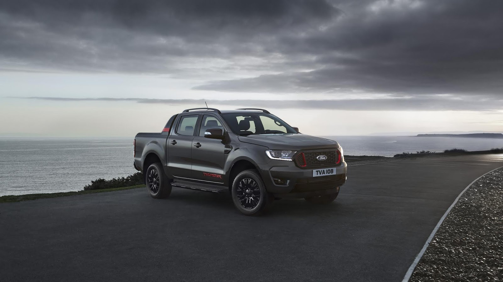 4.500 unidades del pick-up más exclusivo — Ford Ranger Thunder