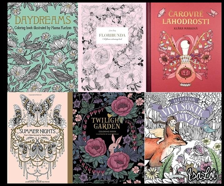 IsaLot Scrapbooking: Libros de colorear para adultos absolutamente ...
