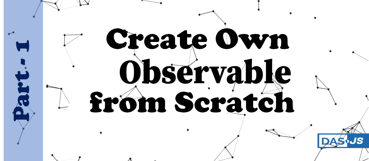 create own observable from scratch