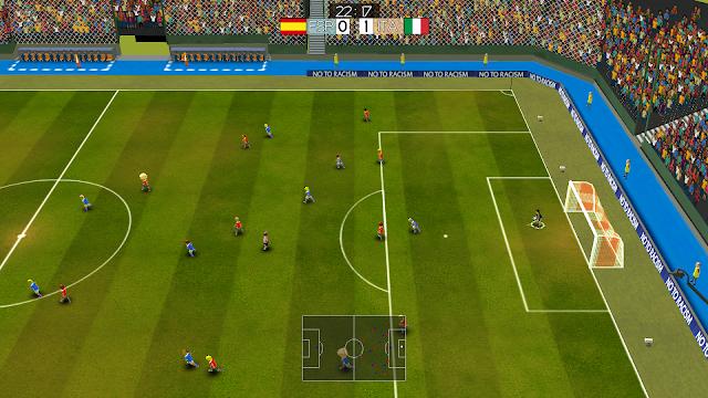 Super Arcade Soccer - Partido