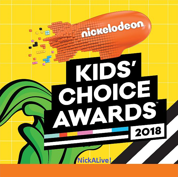 update 29 12 nickelodeon australia new zealand has confirmed that the logo in the above image is nickelodeon s official kids choice awards 2018 logo