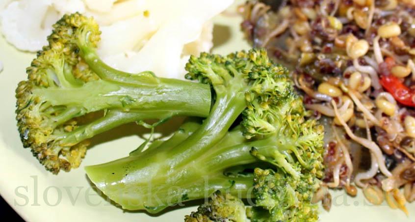 Klíčky s brokolicou