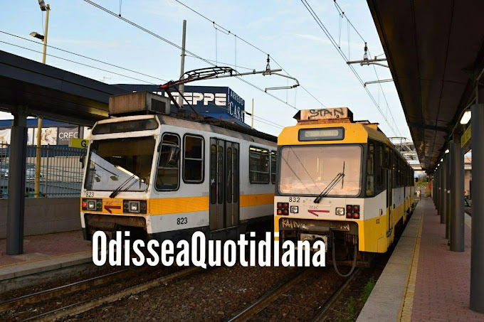 Abbacchiature ferroviarie - Metrotramvia Termini-Giardinetti-Tor Vergata