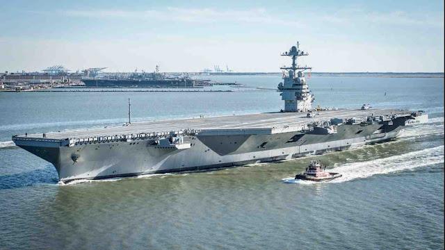 Gerald R. Ford class aircraft carrier