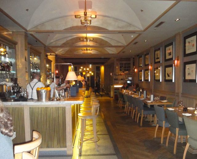 Interior view of Percy & Founders