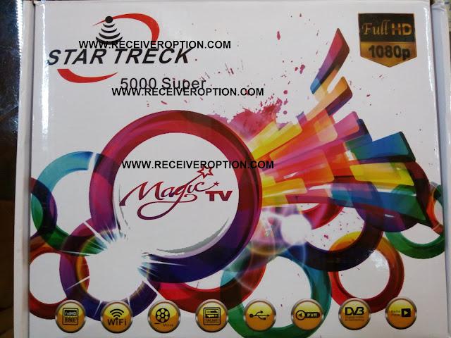 STAR TRECK 5000 SUPER HD RECEIVER BISS KEY OPTION