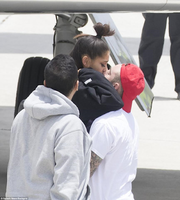 2ab - Photos: Ariana Grande seen for the first time in Florida after Manchester bomb attack