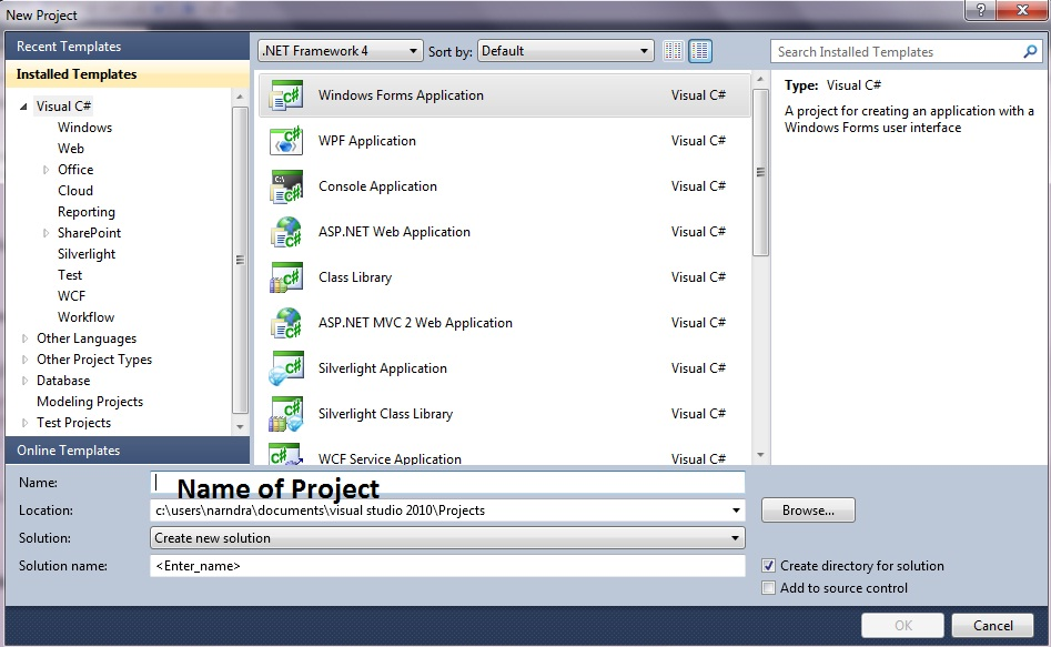 Narender: ATM Project in C# Window application