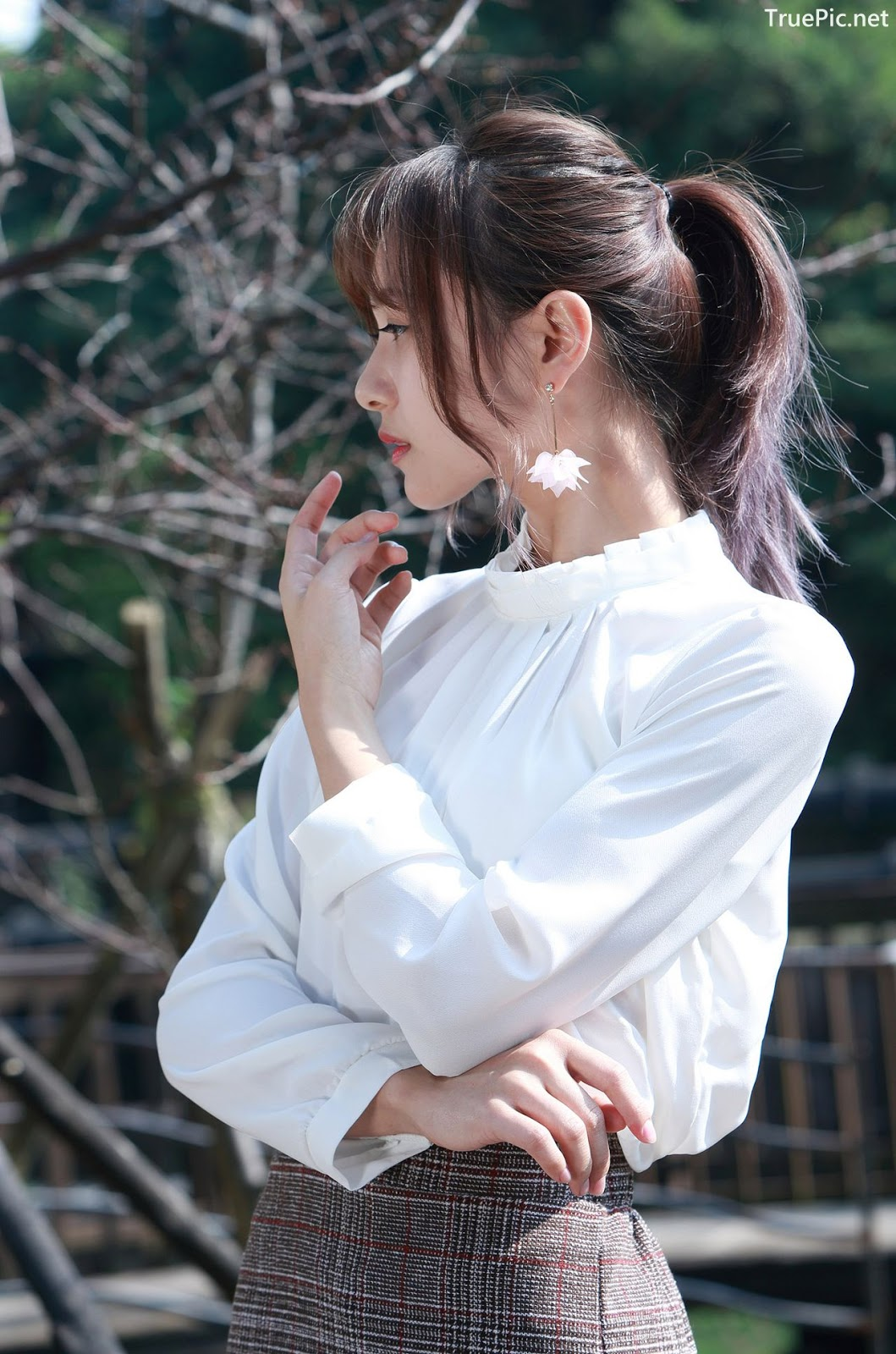 Image-Taiwanese-Model-郭思敏-Pure-And-Gorgeous-Girl-In-Office-Uniform-TruePic.net- Picture-5