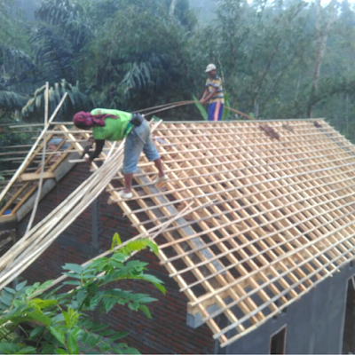 Reng Atap Bambu
