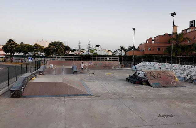 skate park quarteira