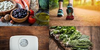 Pautas para controlar el colesterol alto, como son alimentos sanos, verduras, frutos secos, aceite de oliva,legumbre,hacer ejercicio físico,controlar el sobrepeso