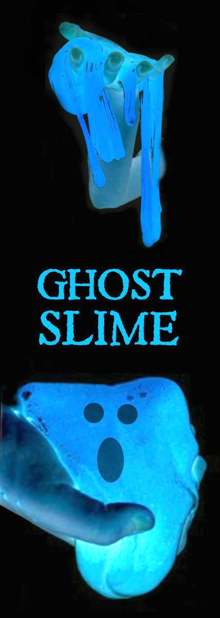GOOEY GHOST SLIME: ICY-COLD slime so fun it will give you chills!