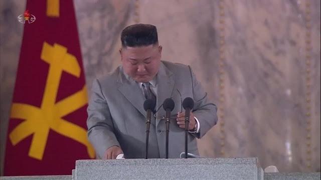 Kim Jong-un Menangis dan Minta Maaf ke Rakyatnya karena Gagal