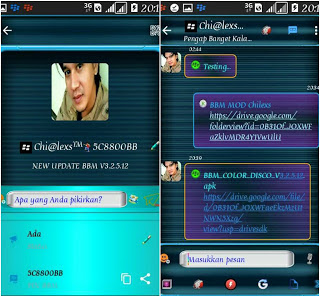 BBM CD (Color Disco) v9 Official Versi 3.2.5.12 Apk