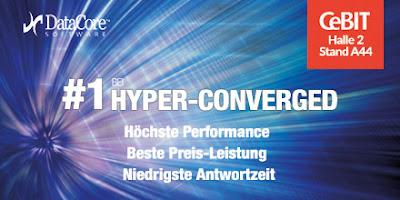 CeBIT : Hyperkonvergente Appliance Lösungen im Fokus