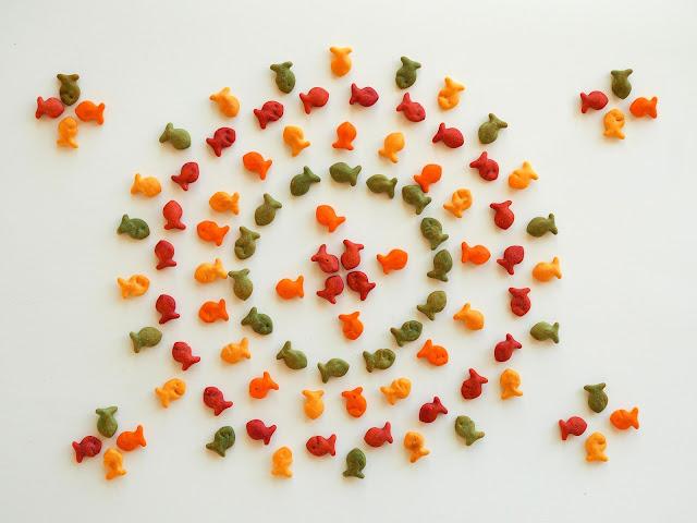 Little Hiccups: Goldfish Mandala