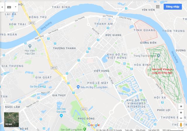 Sân Golf Vinpearl Long Biên Hà Nội
