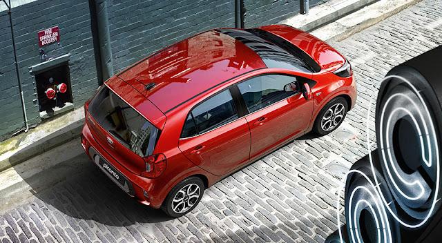 صور سيارة كيا بيكانتو الجديدة 2021 من الداخل والخارج